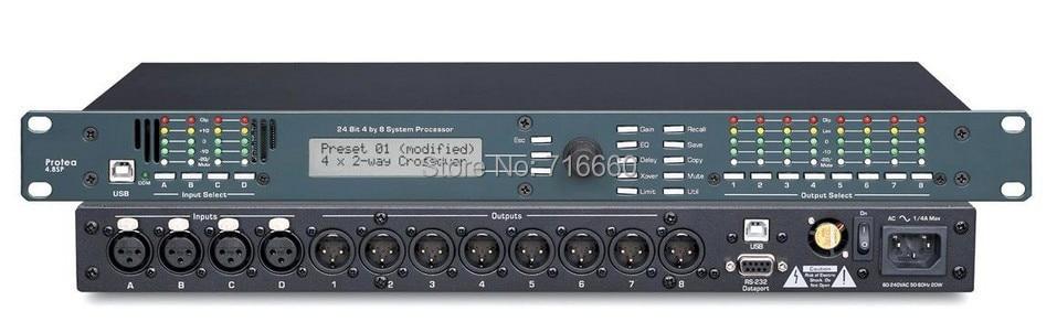High Quality ASHLY Protea 4 8SP 4 Input 8 Output Digital Speaker Processor for hot selling