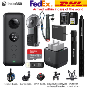 Image 1 - Insta360 ONE X 5.7K VR 360 Action Camera For iPhone & Android Insta 360 Battery Charger Bullet Time Invisible Selfie Stick