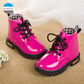 2017 1 to 3 years old baby girls boots lace-up martin boots kids fashion boots high quality children's casual sports shoes