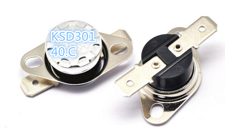 XNWY KSD301 thermostat / thermal protector / temperature control switch 40 degrees 250V/10A normally closed