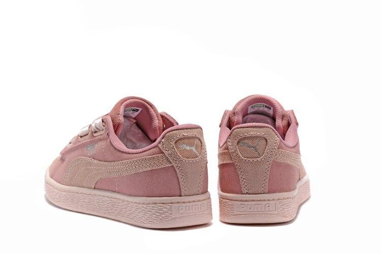 big sale 8c72b 2447b Rihanna X Puma Fenty Women's Bow Trinomic Sneakers Shoes Pink/purple/ Bow  Ties Badminton Shoes Size 36-39