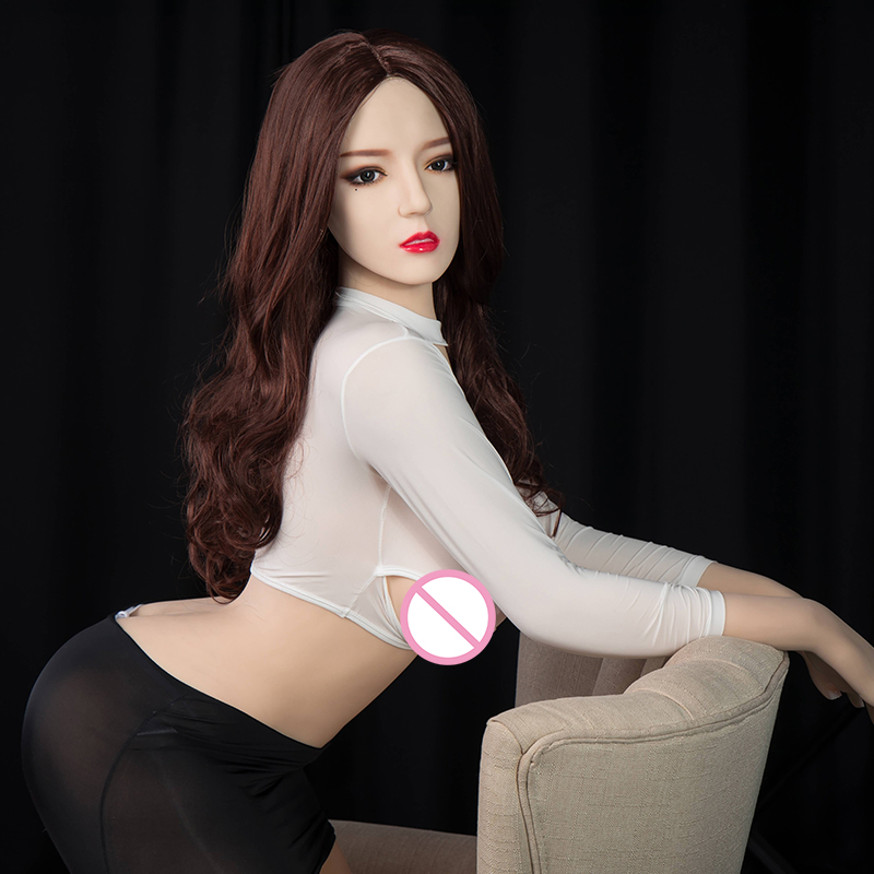 168cm Adult Realistic Japanese <font><b>silicone</b></font> <font><b>sex</b></font> <font><b>doll</b></font> for men <font><b>Asian</b></font> head image