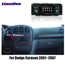 Liandlee 2 din автомобиль Android для Dodge Caravan 2001~ 2007 радио gps карты карта навигации плеер HD экран BT wifi медиа система