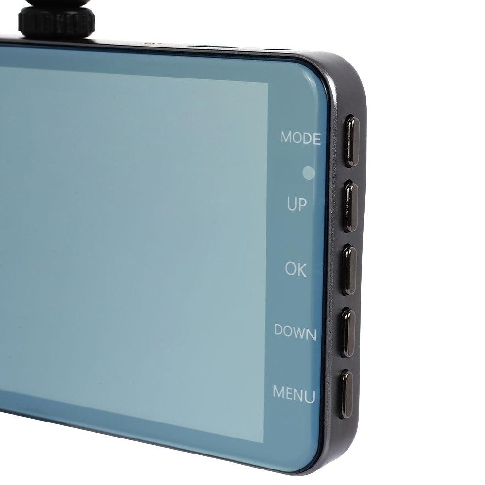 4 pouce HD1080P Dash Cam Enregistreur de Conduite Durable Voiture DVR Parking Moniteur Automobile
