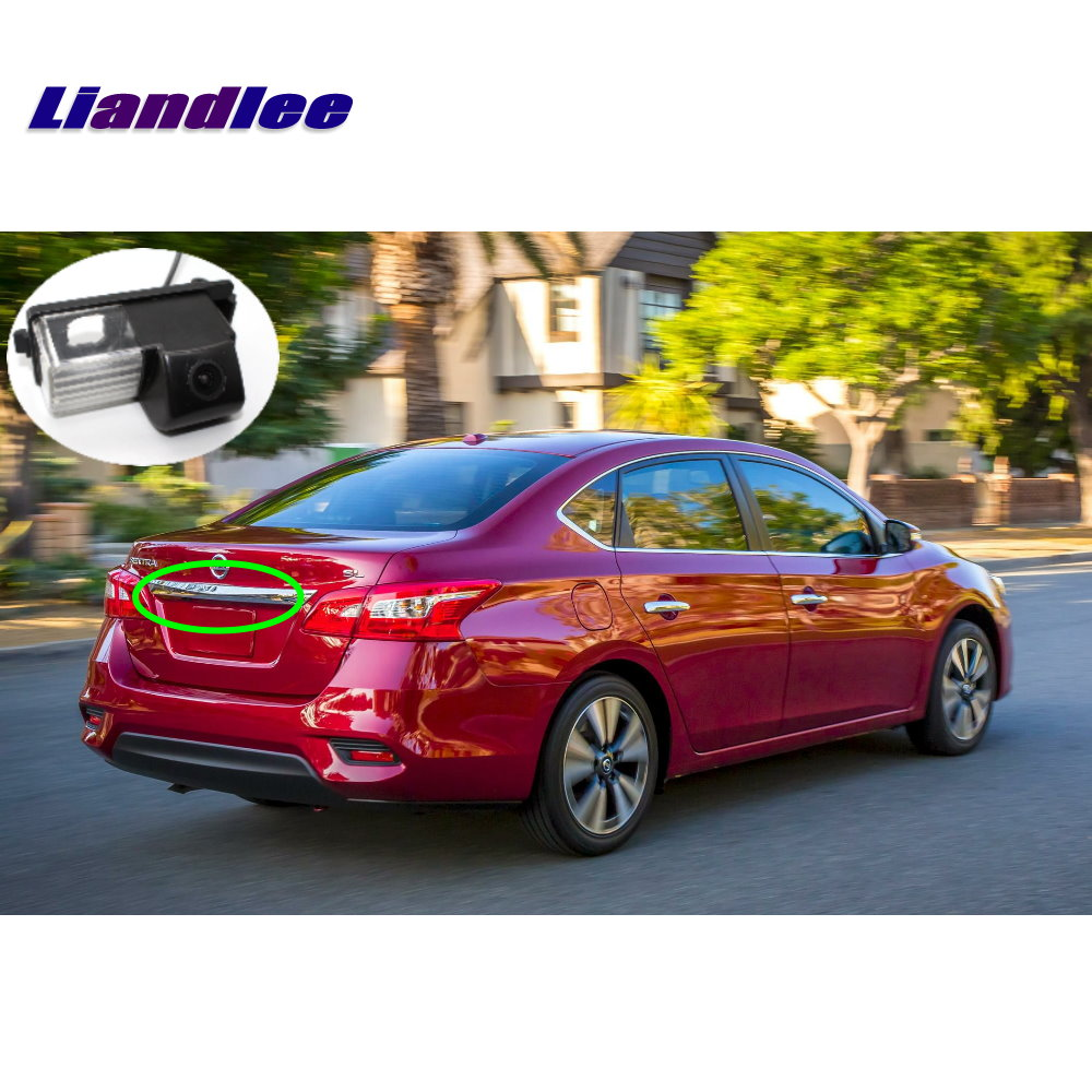 Liandlee Car Backup Parking Camera For Nissan Sentra Pulsar Rear View Rearview Reverse Camera Integrated SONY CCD HD in Vehicle Camera from Automobiles Motorcycles