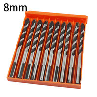 10pcs 8mm Drill Bit Set Tungsten Carbide Tipped Tapcon Drill Bit Masonry Drilling For Concrete Stones