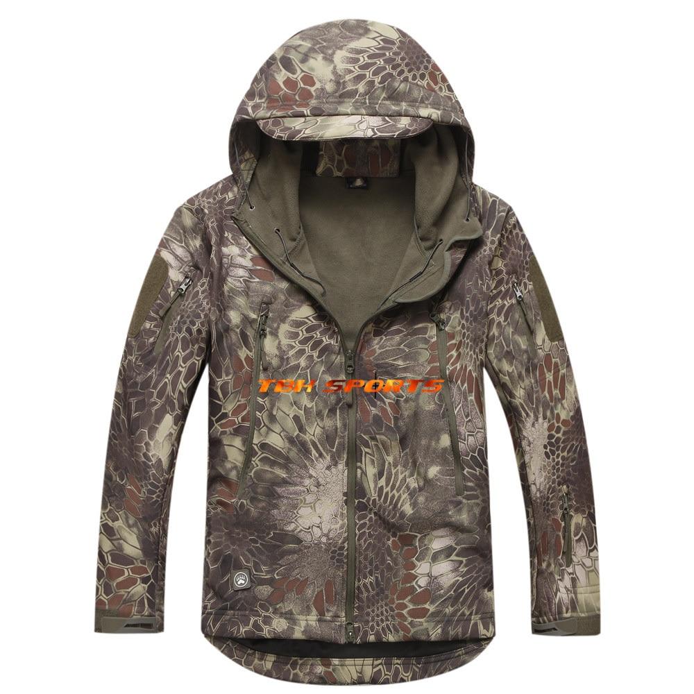 ФОТО Shooter TAD Gear Soft Shell Newest Mandrake Camouflage Hunting Jacket+Free shipping(SKU12050171)