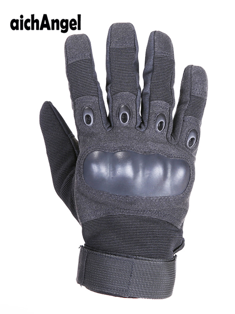 Man Tactical Gloves Full Finger Protective Safety Work Gloves Police Military Army Gloves Paintball Airsoft Shooting Gloves