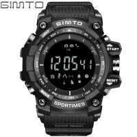 Sport Digital Wrist Watch Men Waterproof Led Electronic Male Pedometer Calorie Altimeter Army Stopwatch Relogio Masculino