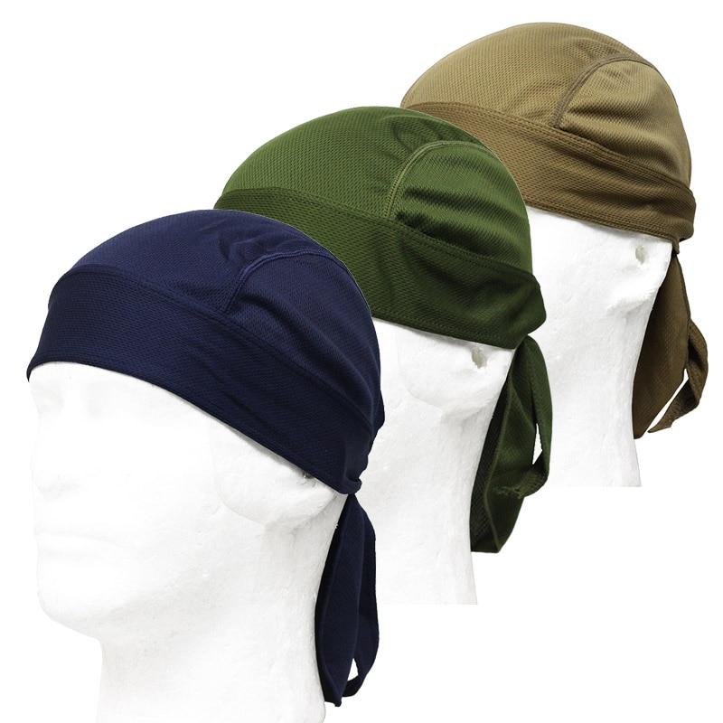 גברים רכיבה כובע ראש צעיף קיץ גברים ריצה רכיבה headscarf כובע הוד ראש קסדה אופניים חינם גודל ספורט אביזרים