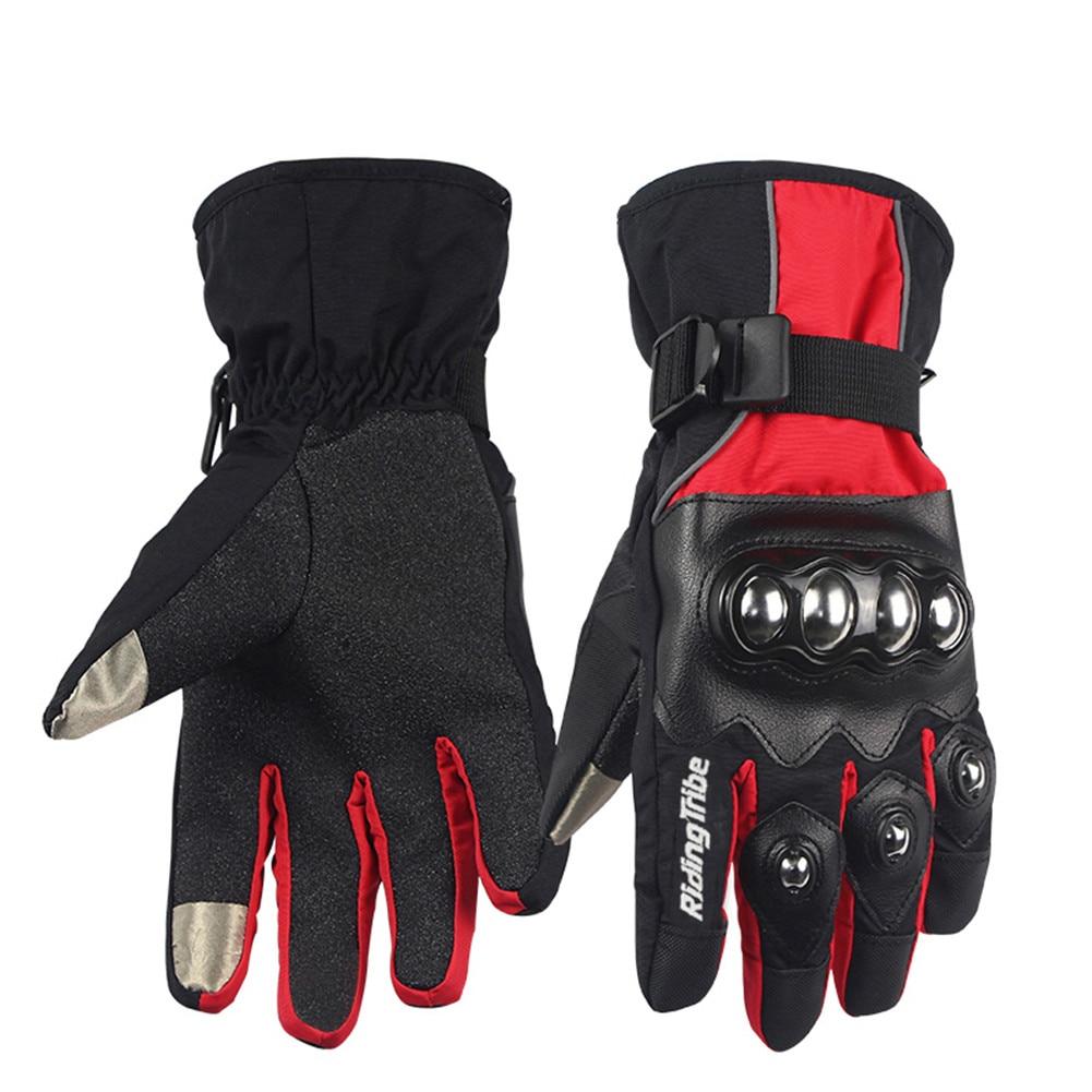 Winter Screen Touch Motorcycle gloves Luva Motoqueiro Guantes Moto Luvas de moto Skiing Motocross gloves HX0402 Gants Moto