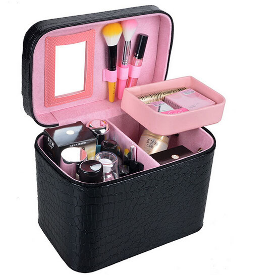 Hot Sale High Quality Makeup Tool Set Organizer Cosmetic kit Case Large Capacity Storage Bag Disassembly Suitcases 0420#