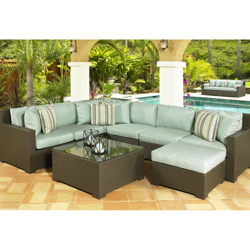 Cheap L Shaped Rattan Sofa Us 664 05 5 Off Factory Direct Sale Sgs Outdoor Used Contemporary Bali Synthetic Rattan Furniture In Dining Room Sets From Furniture On