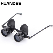 Cheap price HUANDEE 2.8X34 fishing Binoculars Zoom Telescopes Eyepiece glasses Waterproof Binocular scope eyeglass telescope spectacles