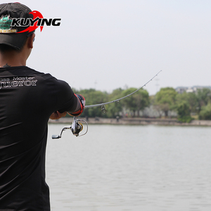 Image 5 - KUYING TOP CASTER 2.1m Spinning Casting Lure Fishing Rod Cane Stick Pole ML Light Soft 2 Section Carbon Medium Fast Action