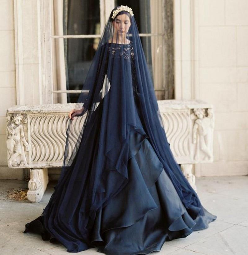 Popular Black Wedding Dress Sleeves-Buy Cheap Black Wedding Dress ...