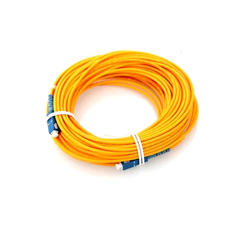 Fiber Optic Cable SC Patch Cord SM SX 3mm 20m 9/125um Fiber Optic Jumper Cable SC/UPC-SC/UPC