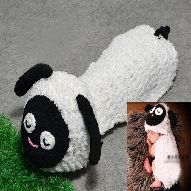 Bebé Lamb Beanie Hat con cabo ganchillo hechos a mano patrón Toddler ...