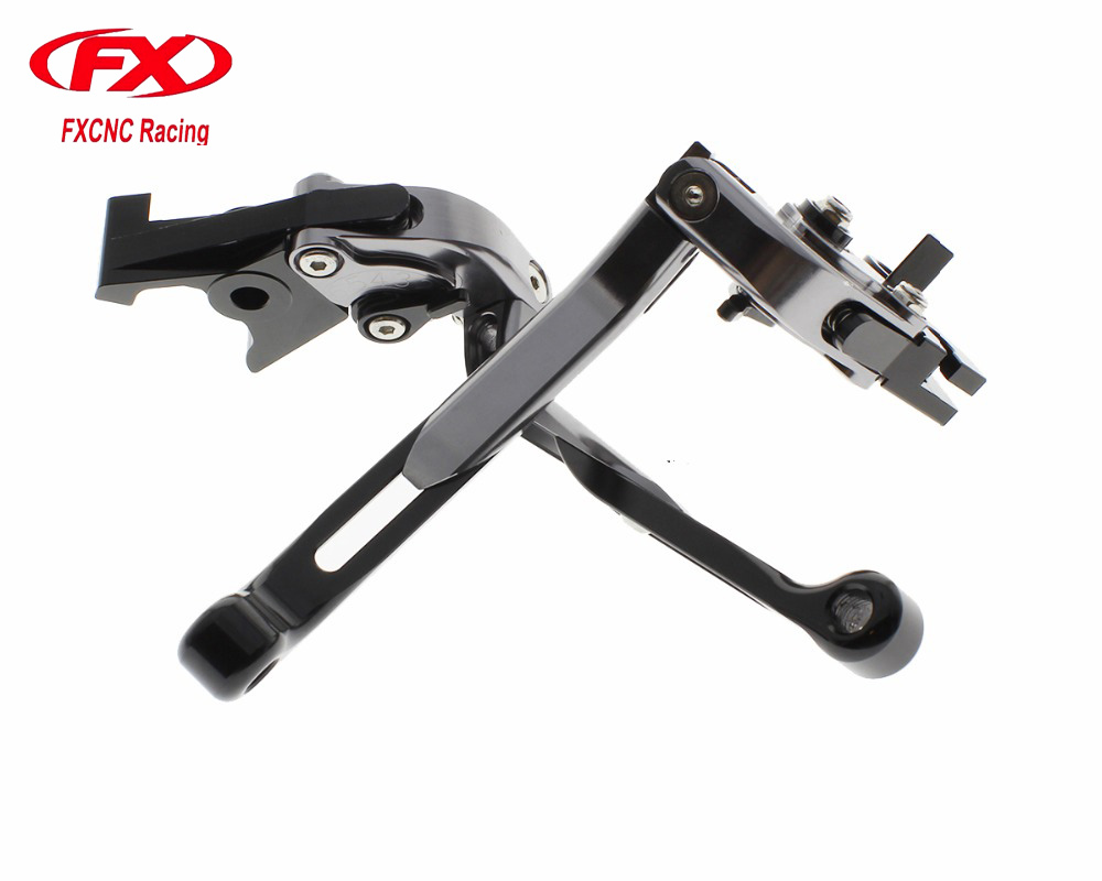 FX Adjustable Folding Extendable Motorcycle Aluminum Brake Clutch Levers For APRILIA RSV MILLE R MV AGUSTA F4 RC RR DUCATI S4RS billet alu folding adjustable brake clutch levers for motoguzzi griso 850 breva 1100 norge 1200 06 2013 07 08 1200 sport stelvio