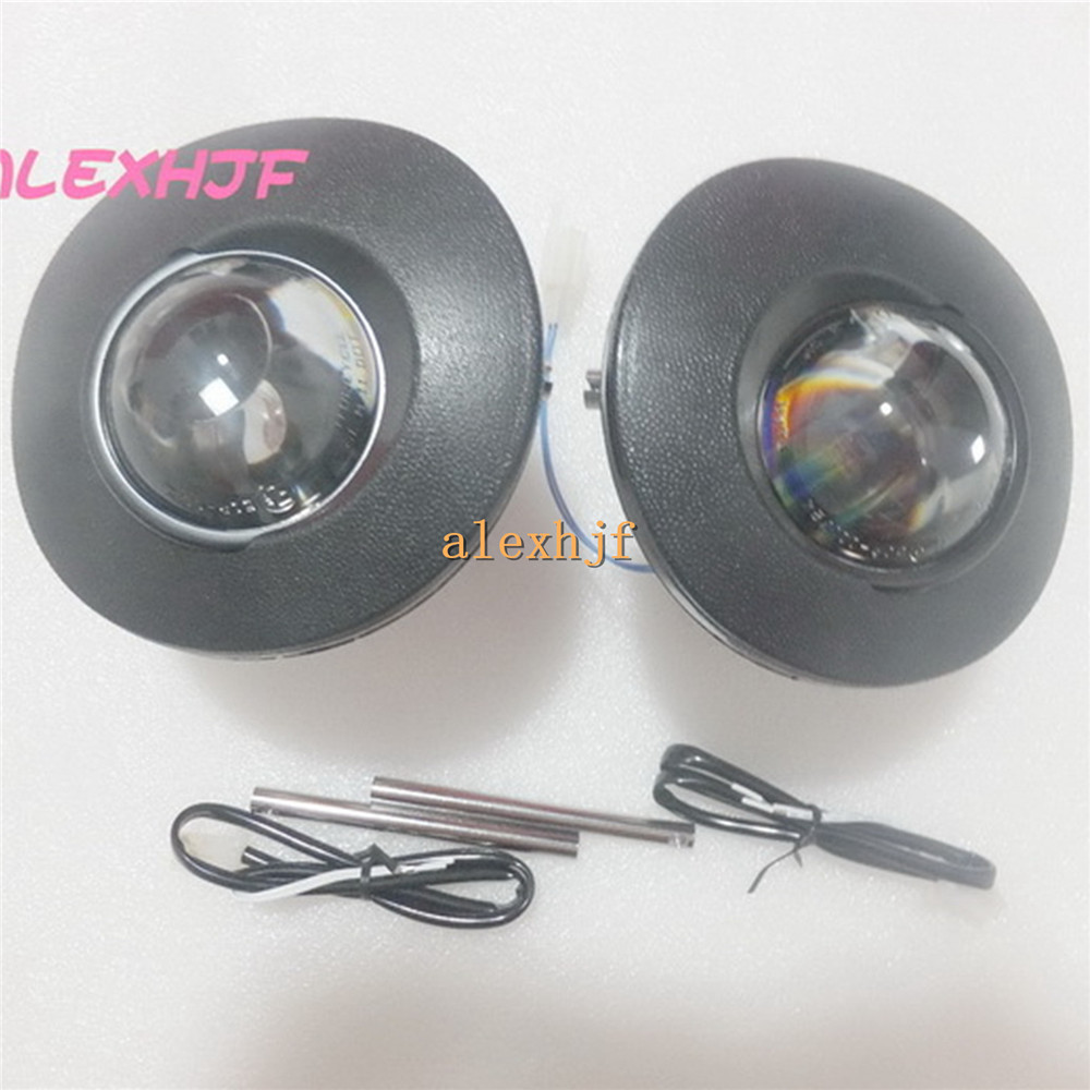 July King Car Bifocal Lens Fog Lamp Assembly case for Toyota Noah Vios Hilux Vigo 4Runner Fortuner RAV4 Dalhatsu Sirion etc