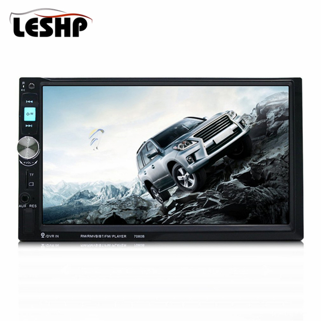 Universal 7080b 7 Inch Hd Touch Screen Car Video Player Bluetooth