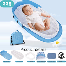 Get more info on the AAG Multifunctional Portable Baby Crib Bed Changing Station Newborn Travel Bed Foldable Mummy Bag Infant Nest Diapers Mat 40