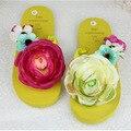 Original hecho a mano zapatillas sandalias 2016 nuevas sandalias planas zapatos de la playa de playa de verano DIY
