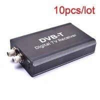 10 ADET Oto Dijital TVBox DVB-T T1 MPEG4 H.264HD Çift Anten Güçlü Sinyal Avrupa Evrensel Stereo GPS Navigasyon DVD için oyuncu