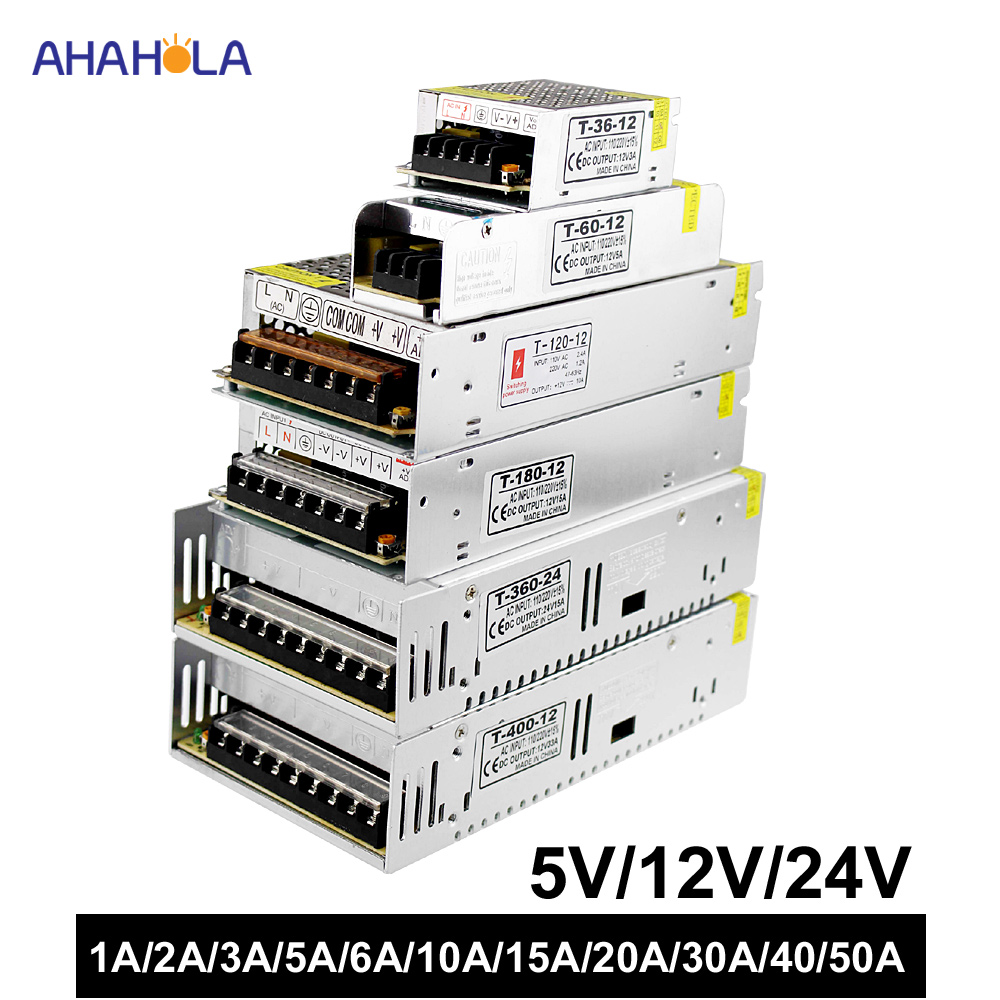 led <font><b>power</b></font> <font><b>supply</b></font> 12v 5v <font><b>24v</b></font> 1a 2a 3a 5a 6a 10a 15a 20a 30a <font><b>40a</b></font> 50a smps <font><b>switching</b></font> <font><b>power</b></font> <font><b>supply</b></font> for LED strip ac 220v to <font><b>24v</b></font> dc image