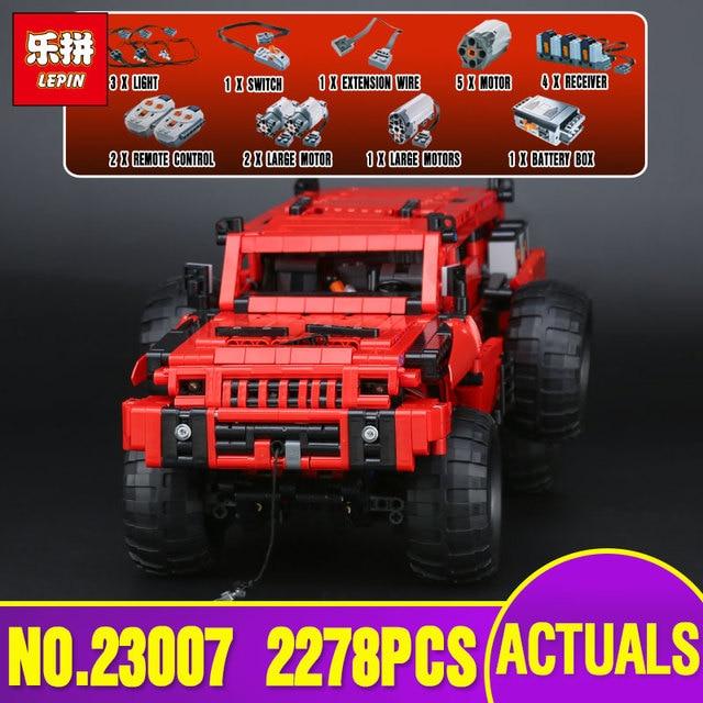Lepin 23007 Genuine Technic MOC Series The Marauder Set Children