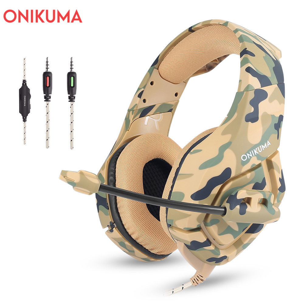 ONIKUMA K1 3.5mm žičane slušalice Stereo slušalice s mikrofonom - Prijenosni audio i video - Foto 5