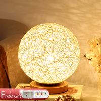 Table Lamp Bedroom Bedside Lamp Creative Dream Romantic Warm Christmas Gift LED Dimming Night Light E27