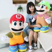 Aranyos Húsvét Soft Plüss Mario Bros Töltött Toy Appease Baba ágy Párna Toy Gyerekek Baby Girl Kawaii Kid Baba születésnapi ajándék