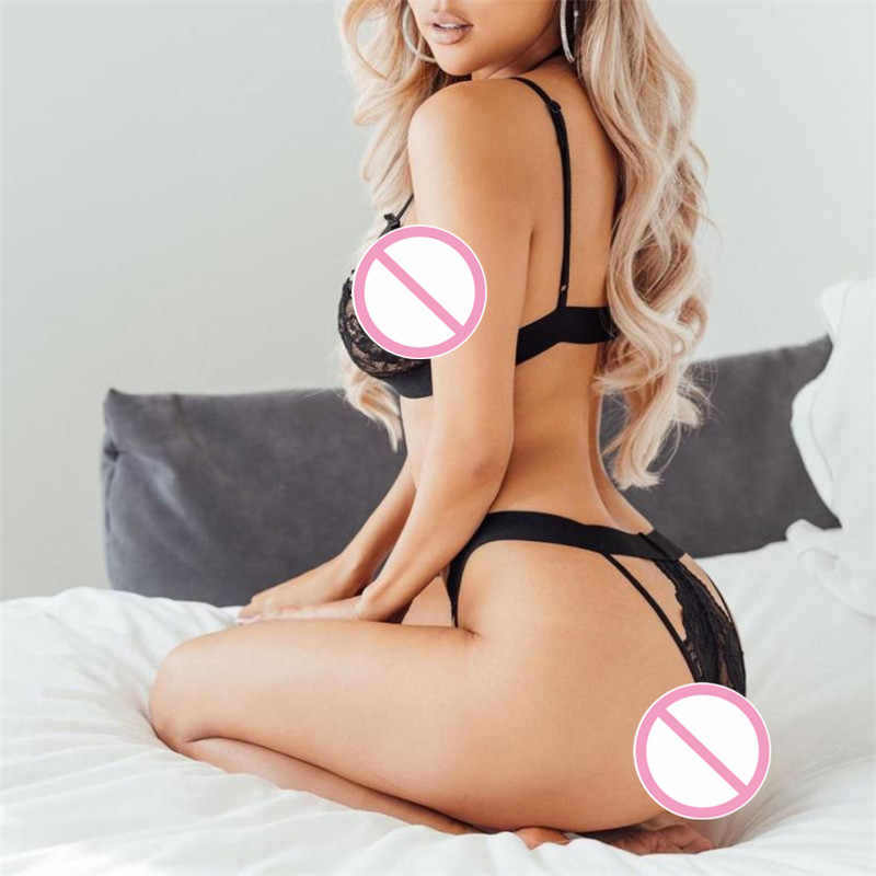 Women Charm Sexy plus size Sissy Lingerie Lace Babydoll G String Thong Underwear Nightwear tanga bra and panty set sexy mujer