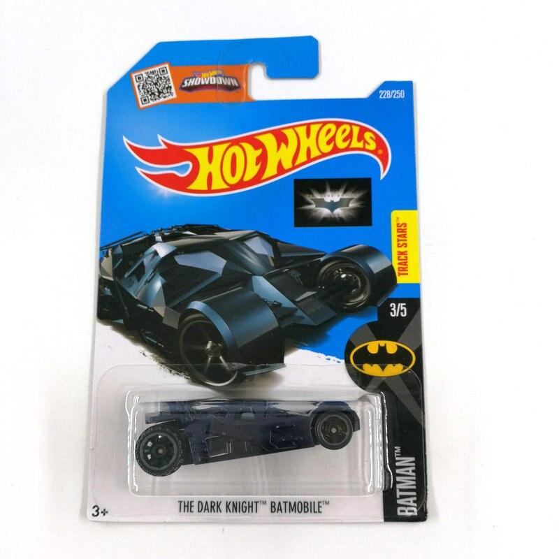 Hot Wheels Batmobile 2010 New Models Black