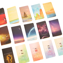 40pcs/lot Cute Small Notepad Agenda Pocket Notebook Travel Note Pad Memo Book School And Office Stationery Wholesale