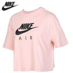 Nuovo Arrivo originale NIKE COME W NSW AIR TOP SS delle Donne T-Shirt manica corta Abbigliamento Sportivo