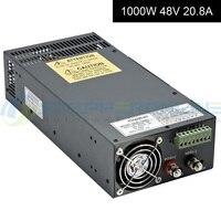 Импульсный источник питания 48 V 1000 W 20.8A CNC источник питания 115 V/230 V источник питания переменного тока для Комплекты ЧПУ роутера