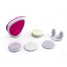5 in 1 Electric Facial Cleanser Skin Beauty Face Cleansing Brush Waterproof Face Massager Battery Operated
