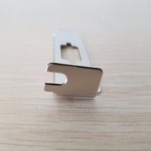 Image 4 - 100 Cái/lốc DB9 9Pin Vách Ngăn Nối Tiếp Cổng Duy Nhất Thanh Khung Xe Cổng COM PCI Khối RS232 Thẻ Nhớ Mở Rộng