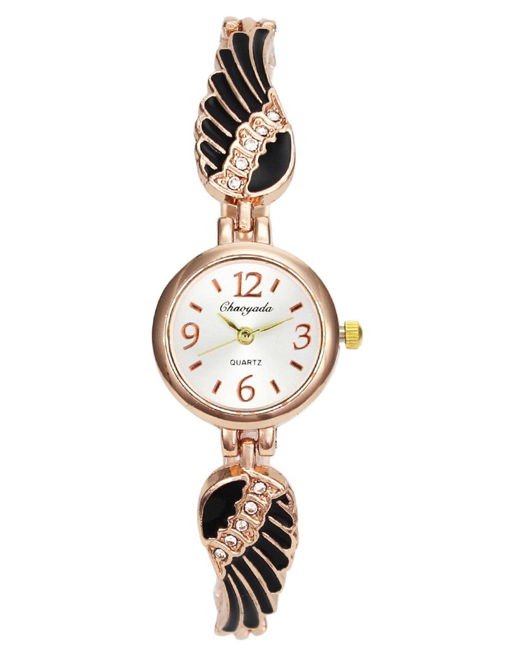 Крила ангела Lucky Crystal Довгий Браслет - Жіночі годинники