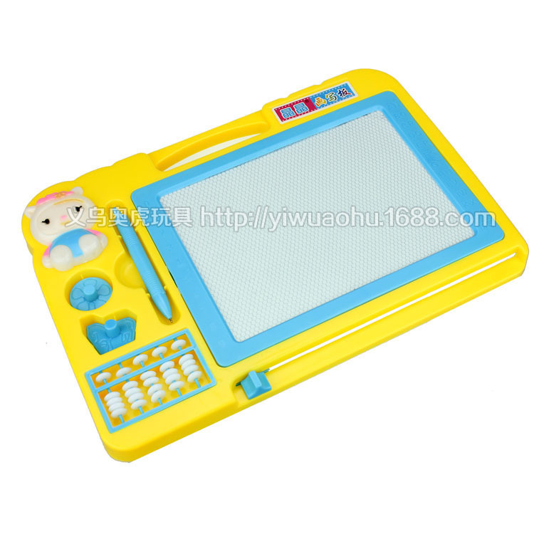 30cm Children's plastic drawing board puzzle toys, to cultivate children's interest in painting