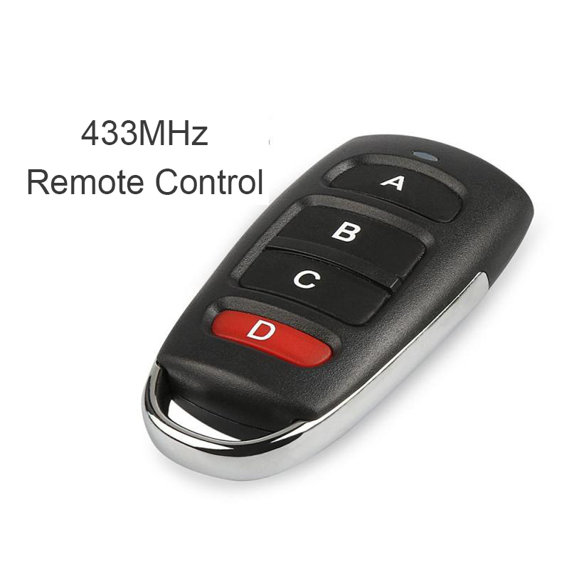 QIACHIP 433 MHz Universal Remote Control Duplicator Cloning Copying Transmitter Garage Door Opener Switches Key Fob