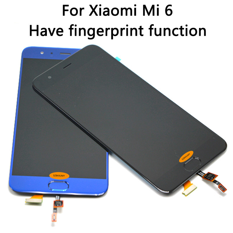 For Xiaomi Mi 6 LCD Display+Touch Screen Digitizer Assembly 1920x1080 FHD 5.15 Xiaomi Mi6 LCD Replacement Parts Xiaomi 6 LcdFor Xiaomi Mi 6 LCD Display+Touch Screen Digitizer Assembly 1920x1080 FHD 5.15 Xiaomi Mi6 LCD Replacement Parts Xiaomi 6 Lcd