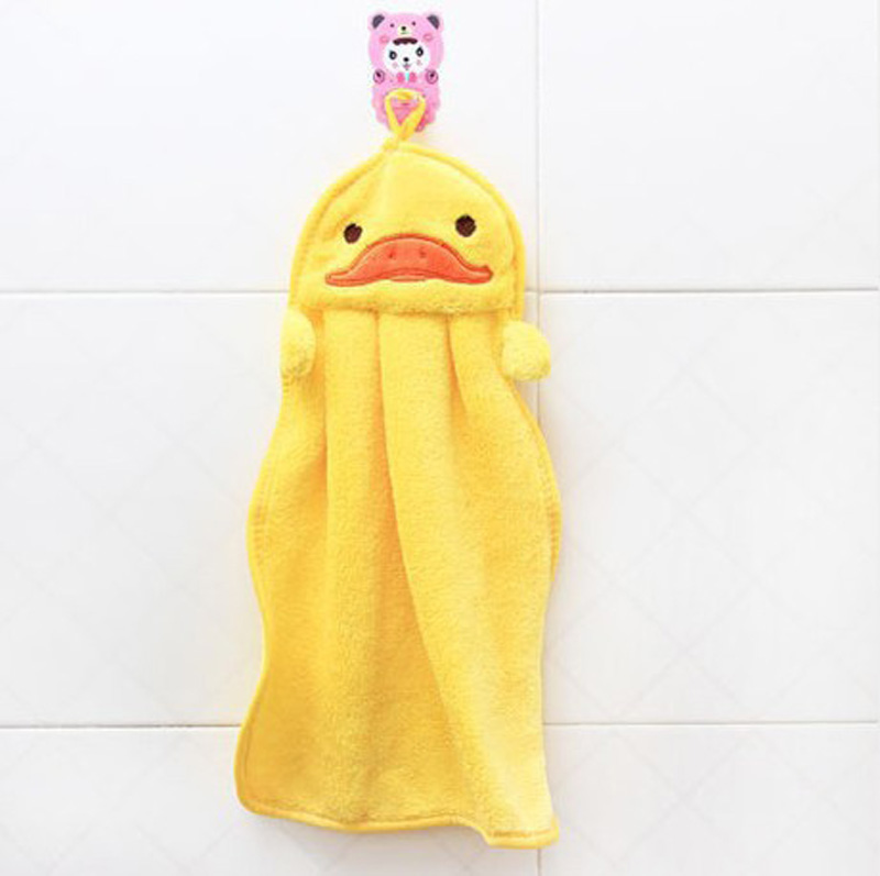 Towels bathroom hanging wipe bath towel beach towel multifunction soft plush fabric Kitchen hand towel