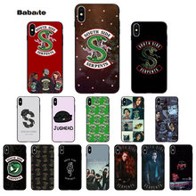 Babaite Riverdale South Side Serpents Luxury Unique Design Phone Cover for iPhone 5 5Sx 6 7 7plus 8 8Plus X XS MAX XR(China)