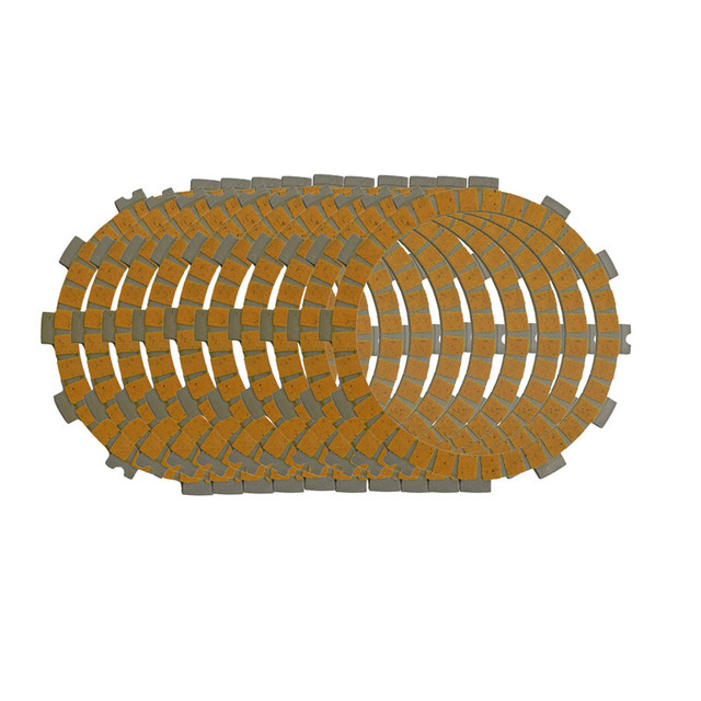 Motorcycle Clutch Friction Plates Kit  Set for BMW S1000RR S1000 RR 2009-2015 Paper-based Clutch Disc10 PCS #CP-0003