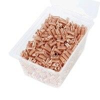Embalaje prismático espiral de 200 ML  cobre  acero inoxidable 304  embalaje para destilación de malla de cobre|Molinillos|Hogar y jardín -