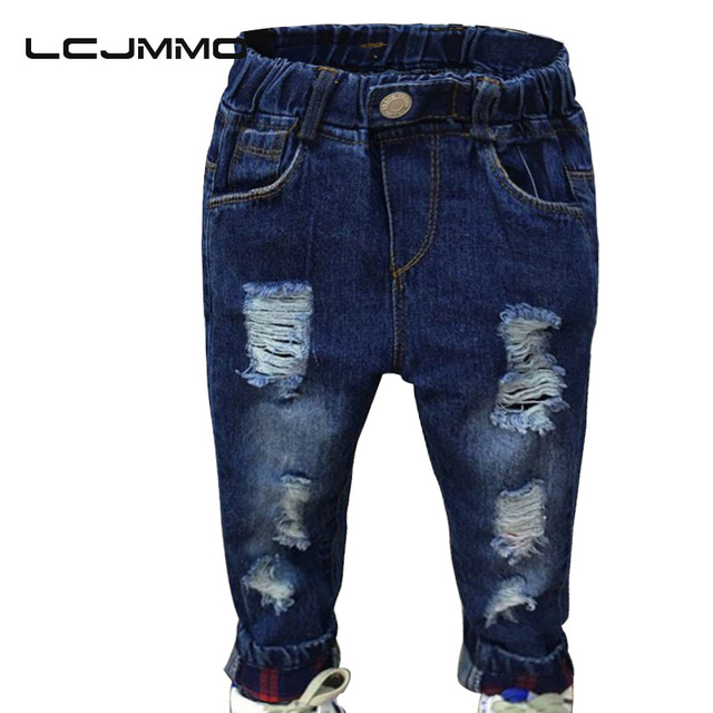 LCJMMO Fashion Denim Pants Boys Ripped Jeans Baby Boys Jeans Kids Clothes  Cotton Casual Children's Jeans - Aliexpress.com : Buy LCJMMO Fashion Denim Pants Boys Ripped Jeans