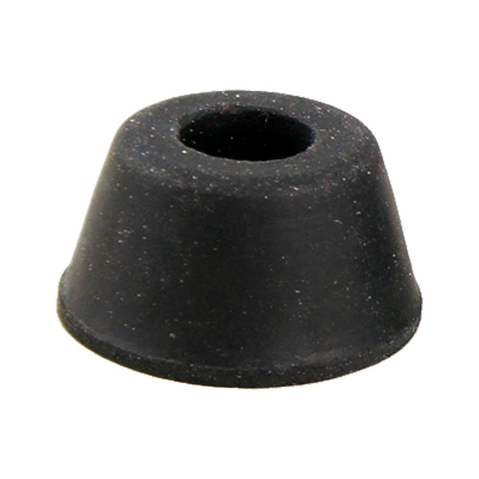 High Quality 10Pcs 21mm X 12mm Black Conical Recessed Rubber Feet Bumpers Pads